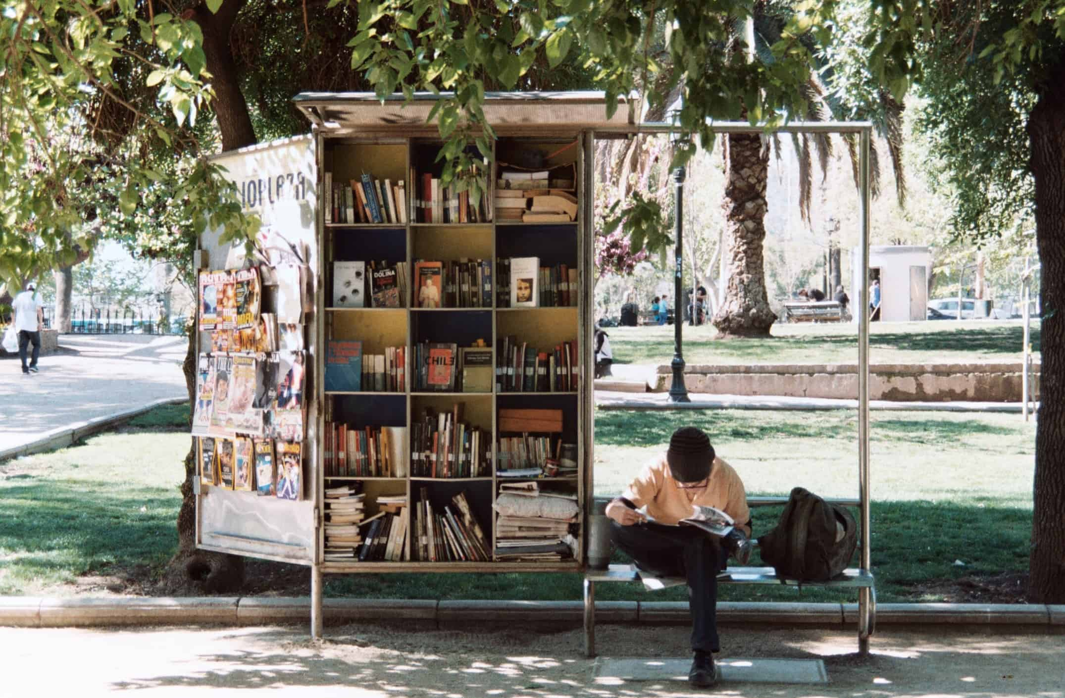 Giving people access to books, information, and other resources boosts economic vitality.