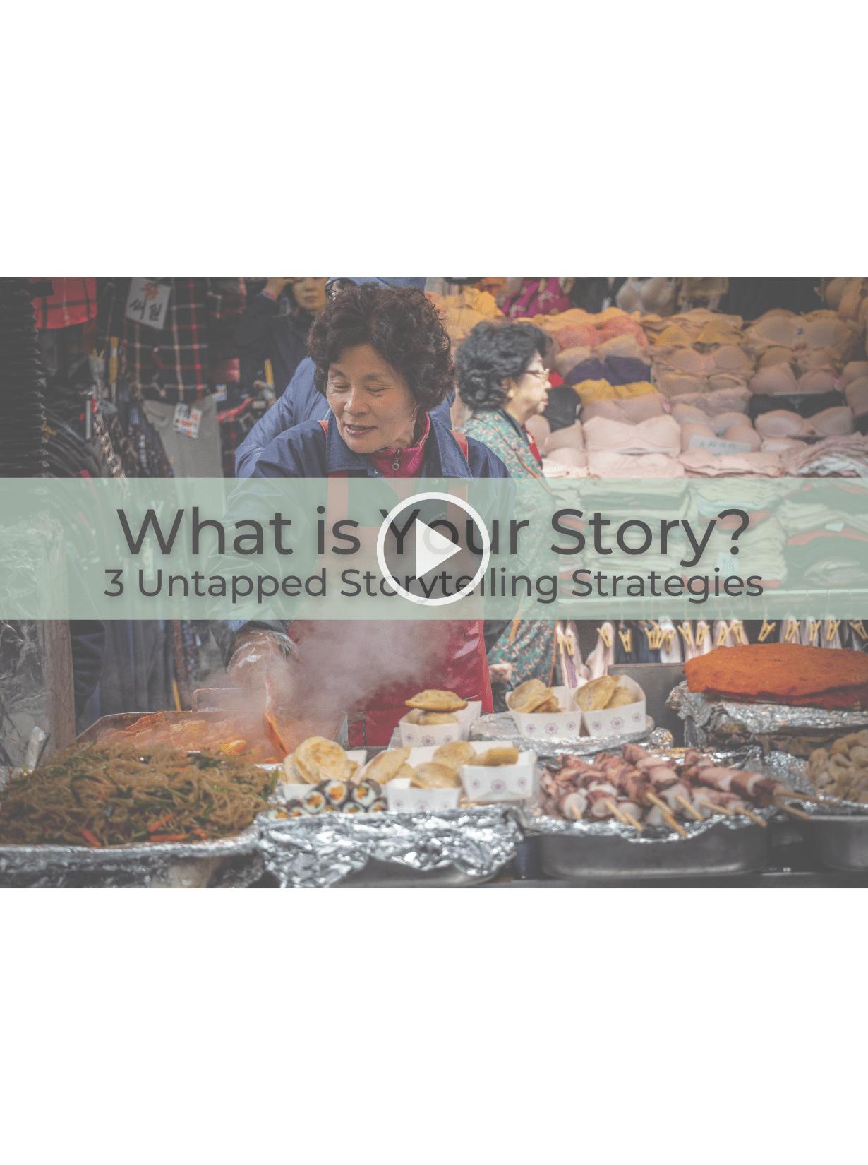storytelling strategies workshop